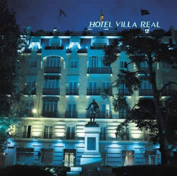 hotel villa real madrid spain