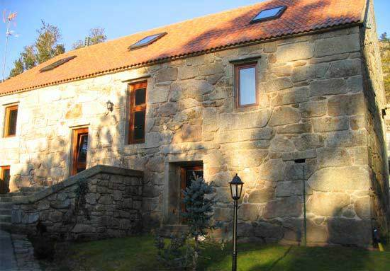 Rustic house casa de aldea san cibr n carnota espa a - Casa rural san cibran ...