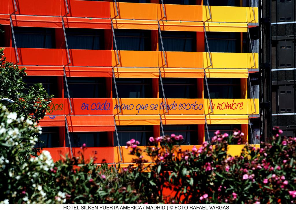 Hotel Silken Puerta Am Rica Madrid Spanien