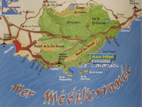 Hotel Azur Le Lavandou France HotelSearchcom
