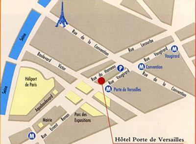Hotel pavillon porte de versailles paris 15e for Salon porte de versailles pavillon 3