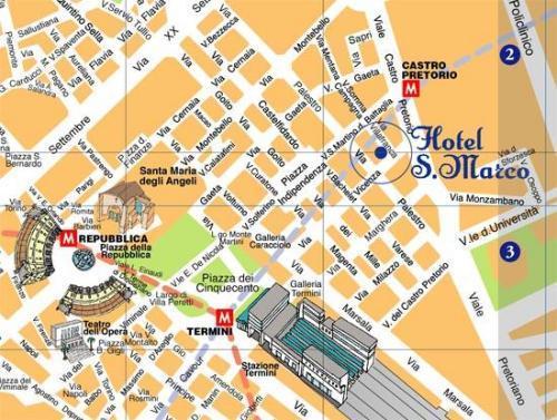 Hotel San Marco In Rom