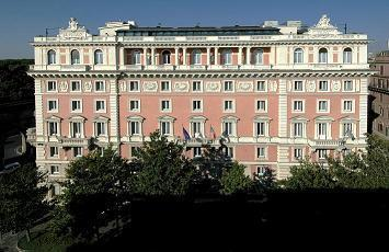 Hotel rome marriott grand hotel flora rome italy for Grand hotel rome