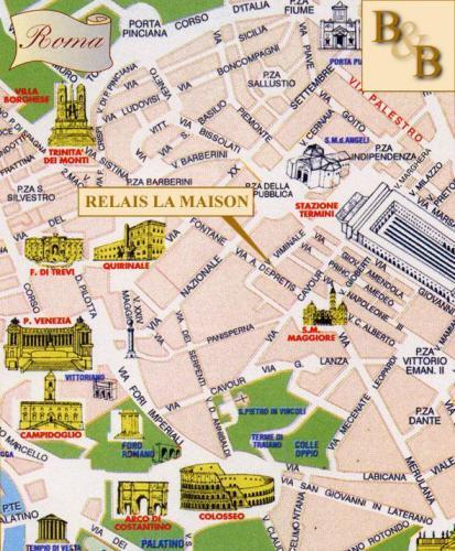 Hostel Relais La Maison De Luxe B&B, Rom, Italien ...