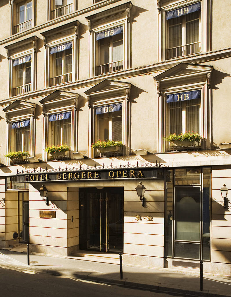 hotel berg re op ra paris 9e arrondissement france